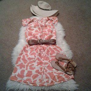 Ann Taylor LOFT sz2 Silk Spring Dress